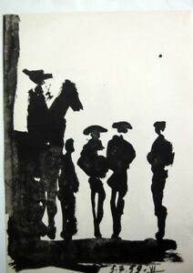 PABLO PICASSO - Toros y toreros. Ed. Cercle d´art - Edicion limitada