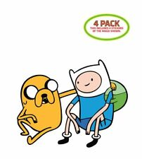 Adventure Time Sticker Vinyl Decal 4 Pack