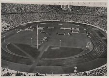 1936 BERLIN GERMAN OLIMPIC GAMES - Stadium Fans Flags ORIGINAL PHOTO #187