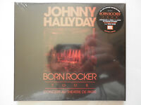 Johnny Hallyday double cd album + dvd digipack Born Rocker Tour (Live au Théâtre