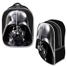 Star Wars Disney Darth Vader Head Sling Tote Backpack Black