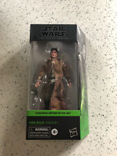 Star Wars Black Series HAN SOLO ENDOR NEW! Return of the Jedi #05