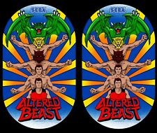 Altered Beast Arcade Side Art Panels Cabinet Graphics Stickers Reproduction
