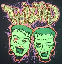 Twiztid Frankenstein one day only 2014 3xl shirt Mne icp insane clown psy majik