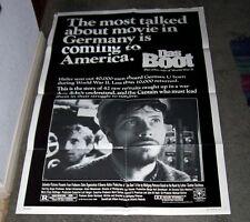 DAS BOOT/THE BOAT original WORLD WAR 2 SUBMARINE movie poster JURGEN PROCHNOW