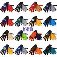 NFL / NBA/  MLB /NHL Team Texting Technology Gloves -Pick your Team