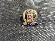 First World War Sweetheart Badge brass and enamel coat of arms of Cambrai.