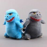 King Monster Godzilla Plush Toy Soft Stuffed Animal Doll 8'' Figure Kids Gift