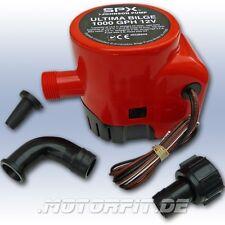 Johnson pump-ultima Bilge-bilgepumpe 1000 Gph ce de marque de certification