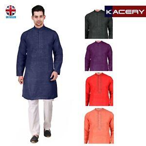 Men's Cotton Kurta Pajama Indian Outfit AR150