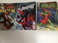 Joblot Of Marvel Comics Including Avengers, Black Widow She Hulk And Dare Devil