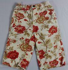 Ralph Lauren Baby Girls 6-12 Mo Floral Corduroy Pants 100% Cotton