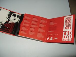 Elton & Bernie Elton John cd album uk Promo MITSCJ1 Mercury 2001 Near Mint  Rare