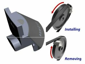 Universal Tool for Mounting Install Remove Straps multigole Poly-V