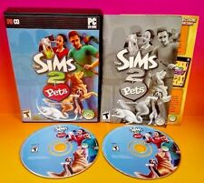 Sims 2: Pets (PC, 2006) PC Game Complete w/ Key Code on Manual