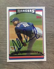 JOHN RHEINECKER OAKLAND ATHLETICS A'S TEXAS RANGERS SIGNED 2006 TOPPS UPDATE (S)