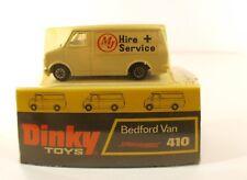 Dinky Toys GB n° 410 Bedford van MJ Hire Service en boite