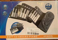Piano roll up Soft Keyboard Piano 49 Keys Unused