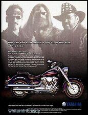 2000 YAMAHA Road Star 1600cc Motorcycle Photo AD Advertising