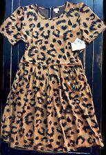 NWT 3XL Lularoe CHEETAH LEOPARD Print AMELIA Dress MEGA UNICORN 🦄 Animal Print