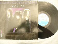 DEVICE LP 22B3 (2283)chrysalis 207 753 rare German issue..... 33 rpm /rock / pop