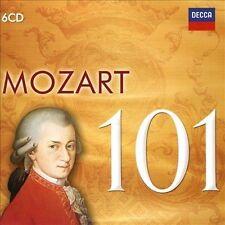 101 Mozart [6 CD], New Music