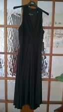 Jones New York (American) Ladies black cocktail dress NEW uk14 us12 V-neck