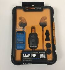Tough Tested Marine Waterproof Noise Control Earbuds With Mic