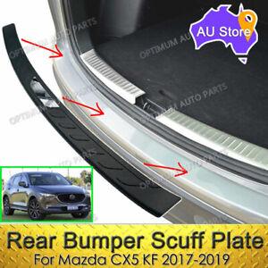 Sill Scuff Plate Rear Bumper Protector Guard to suit Mazda CX-5 CX5 KF 2017-2021