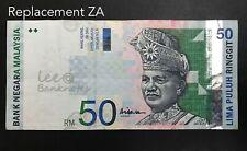 Malaysia - 10th $50 Replacement ZA  | VF