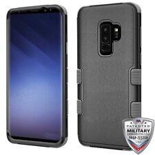 Natural Black Iron Gray TUFF Hybrid Phone Cover SAMSUNG Galaxy S9 Plus