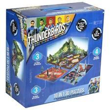 Thunderbirds Are Go 10 in 1 3D Jigsaw Puzzle Set.