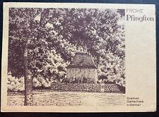1941 Germany Buchenwald KZ Camp Christmas Postcard Cover Zeman 400 Only
