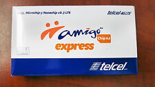 Telcel Sim card unlimited call, sms, 4G, FREE North America calls