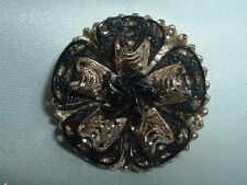 VINTAGE WESTERN GERMANY DRESS SCARF CLIP IN GIFT BOX