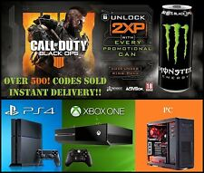 Call Of Duty Black Ops 4 Double XP Codes 30 Mins *INSTANT DELIVERY ALL DAY*