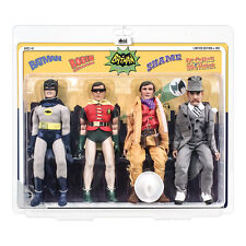 Batman 66 Classic TV Show Mego Style 8 Inch Figures Series 3 Four-Pack
