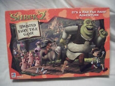 Complete 2003 Shrek 2 Twisted Fairy Tale Game Board Game Far Away Adventure