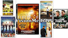 6 Pk - Fireproof - Facing The Giants - Flywheel Church Girl DVD NEW SHIPS NOW !