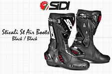 SIDI STIVALI ST AIR RACING BOOTS - BLACK BLACK - EU 38 US 5.5