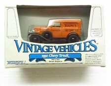 * 1/43 * Ertl Vintage Vehicles * 1930 Chevy Van * Youngs Coal and Ice * MIB *