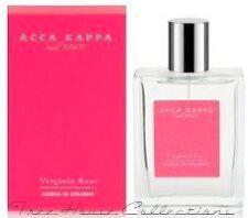Treehouse: Acca Kappa Virginia Rose Eau De Cologne Spray For Women 100ml