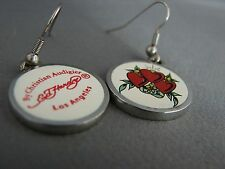 Authentic Ed hardy by Christian Audiger tattoo Earrings