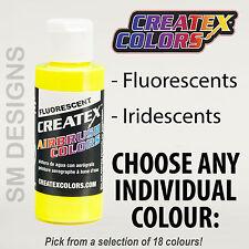 Airbrush Paint - Createx Airbrush Colors 60ml Fluorescent, Iridescent