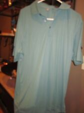 Ashworth Sage Green Taylor Made Performance Lab Golf Polo Shirt M  (BIN46)