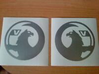 2x new style Vauxhall vinyl car sticker logo grahics decals rear window side