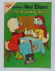 VINTAGE RARE WALT DISNEY UNCLE SCROOGE MEXICAN COMIC # 157 SEA SILVER AGE 1958