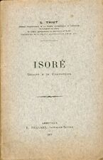 Thiot/Oise/Isoré, Député à la Convention/Envoi signé de l'auteur/1910