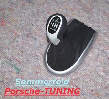 Porsche 996 986 Tequipment Pommeau pommeau Noir Black Gearshift Knob