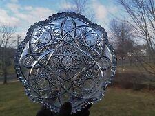 ABP Cut Glass Bowl